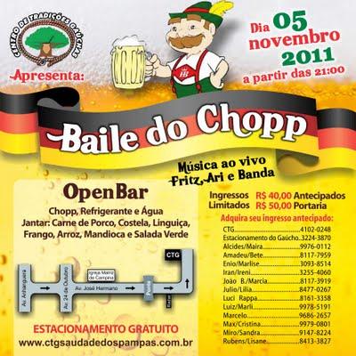 Baile do Chopp 2011